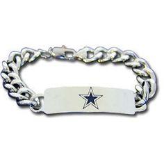 Personalized Dallas Cowboys Fan Favorite Bracelet - Free Engraving