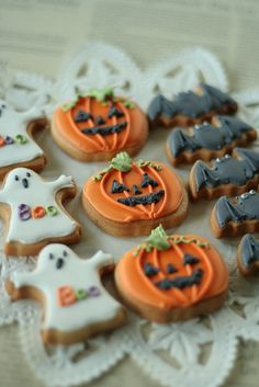 Halloween Themed Cookies