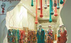 Malagueta beautiful retail design Mega Polo Moda