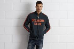 """Tailgate OSU Cowboys Track Jacket by  American Eagle Outfitters 