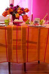Streifentischdecke Decor, Furniture, Textile Design, Interior, Side Table, Table, Home Decor, Interior Design, Beautiful Living