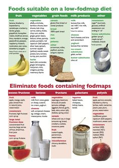Suitable Foods On Low Fodmaps