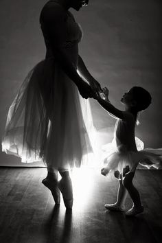Ballet: Mother and Child This will be my daughter and I, or my son, it's their choice
