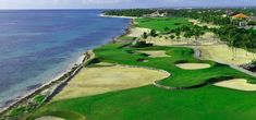 La Cana Golf Course designed by PB Dye at the Punta Cana Resort, in Dominican Republic. Great seaside course with lots of bunkers and the need for good course management. Played El Gringo Loco Tournament, organized by a good friend every year in the DR. My best score: 92