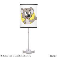 Koala bear cartoon Lamp