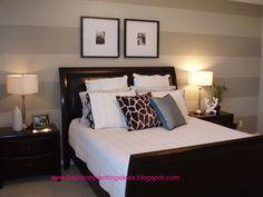 bedroom paint stripe | Bedroom Painting Ideas: Bedroom Painting Ideas Stripes
