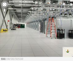 Google's Data Center... when you see it you will #lol