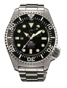 Orient Pro Saturation Diver *** See this great product. Cool Watches, Watches For Men, Dream Watches, Scuba Diving Watches, Orient Watch, Marken Logo, Citizen Watch, Rose Gold Watches, Seiko Watches