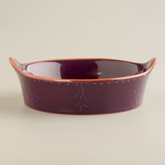 One of my favorite discoveries at WorldMarket.com: Fig Embossed Tapas Dish
