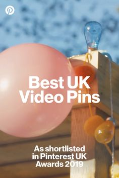 Check out these inspiring and actionable Video Pins, as shortlisted in the Pinterest UK Awards 2019. A Table, Awards, Easter Peeps, Khalid, Check, Craft Ideas, Videos, Quotes, Animals
