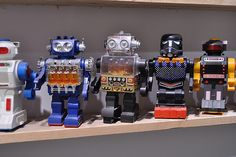 RetroRobotsSneakersCollection05 #robots #collection