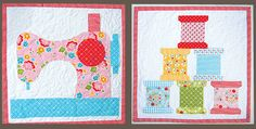 These Mini Quilts are Perfect for Your Sewing Room | Quilting Digest | Bloglovin'