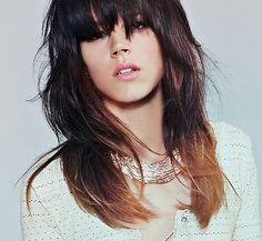 Freja Beha Erichsen wearing Karen London Rose Gold Collar