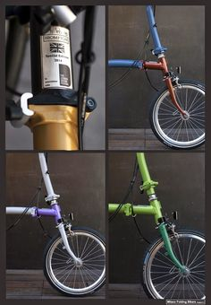 Milano Folding Bikers: Brompton Limited Edition 2014