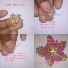 Starfish design – Niffycraft Starfish Earrings, Beading Needles, Seed Beads, How To Make, Design, Pearl Jewelry, Beads, Design Comics, Bead Weaving