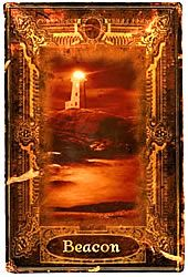 The Beacon suggest that if you look for it, there is a general path for you to follow to reach a place of peace and harmony. However, The Beacon itself sets upon rough ground, so you must still step carefully as you follow it to quiet waters.