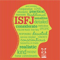 ISFJ or INFP, on first glance at these. Will have to look into this more, perhaps.