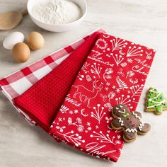 Our Christmas Kitchen Towel Set is a perfect addition to your kitchen this season.    Whether you're looking for stocking stuffers, Secret Santa presents, festive Christmas decor or even gift cards, we have a huge selection of unique holiday stuff to make your days and nights merry and bright.