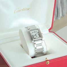 Cartier Men's Tank Francaise Watch #ModernLook #cartier