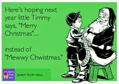 Speech Room News: Merry Christmas!