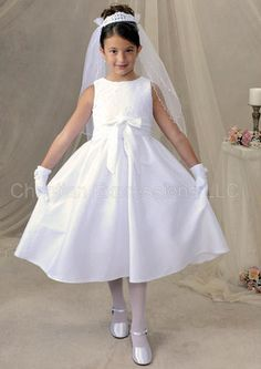 Isabella First Communion Dresses nice plain dress, pretty enough to carry it