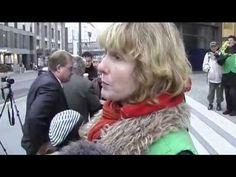 Greenpeace-Aktivistin wird mit dem Klimaschwindel konfrontiert