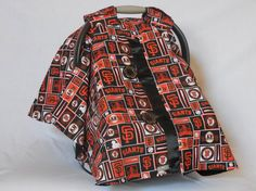 Giants Baby car seat cover/canopy on Etsy, $55.00