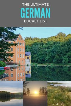 The Ultimate German Bucket List