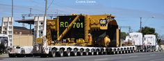 NQ Heavy Haulage Oversize, NO tires and wheels, NO cab, NO bed !!Hauling the massive Caterpillar 797