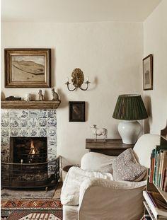 Designer Robert Kime's English country house via T magazine.