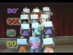 Jugando con las notas musicales | Canciones infantiles | Kidloom - YouTube