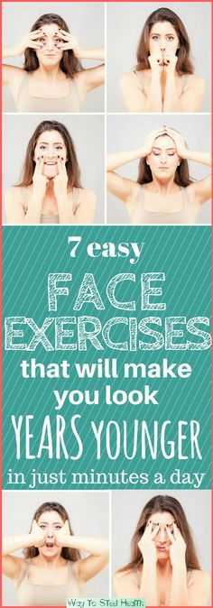 Your facial muscles need exercise just as much as the rest of your body. And facial exercises work just like regular muscle exercises. Intent.com suggests the following to keep your face looking yo…