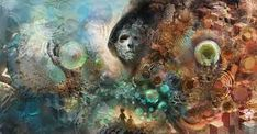 Modern Esoteric Art And Symbolism - Android Jones - Enter Noctournas Android Jones, Esoteric Art, Corel Painter, Baroque Art, Art Prints For Home, Art Inspiration Drawing, Visionary Art, Psychedelic Art, Amazing Art
