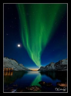 ✯ The Sun, The Moon and The Northern Lights - Norway