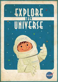 NASA vintage promo