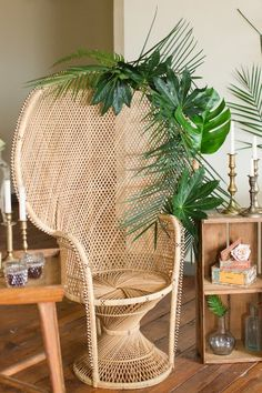 INVENTORY Honey Wicker Peacock Chair Search View Wishlist Honey Wicker Peacock Chair Price: Description: Wicker Peacock Chair - We have two of these babies for the perfect duo! Quantity: 2 Tags: chair, boho, seating, peacock, wicker Add to Wishlist Boho Baby Shower, Baby Shower Chair, Havana Theme Party, Havana Nights Theme, Tropical Chairs, Cuban Decor, Wicker Peacock Chair, Tropical Bridal Showers, Shower Inspiration