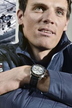 "Alpina - Alpiner 4 chronographe ""Race for Water"" Racing, Water, Watch, Running, Gripe Water, Auto Racing"