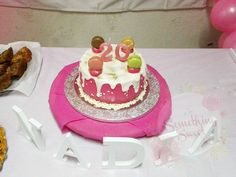 Something Sweet by SM - Dripping Cake with Macarons