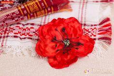 Цветок «Мак» из атласных лент | Уроки творчества | Леонардо хобби-гипермаркет - сделай своими руками