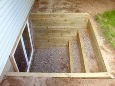 Wood Window Well Construction | Shapeyourminds.com on egress ladders, crawl space wells, egress signs, sump pump wells, plumbing wells, egress basement windows, egress windows inside,