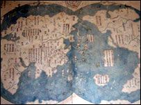 A map due to be unveiled in Beijing and London next week may lend weight to a theory a Chinese admiral discovered America before Christopher Columbus.