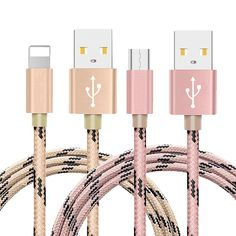 Calidad de nylon de metal de iluminación cable micro usb cable de sincronización y cargador rápido para iphone 5 5s 6 6 s 7 7 plus para samsung sony xiaomi