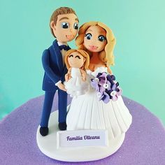 happy trio   #weddingcaketoppers #caketopper #DeliciuMic #weddingcake #cake #brideandgroom #bridegroom #baby #customcaketopper #weddingcaketopper #caketoppers #weddingcakes #cakes #customtoppers #handmade #handmadecaketoppers #handmadecaketopper #ilovehandmade #crafts #crafting #craft #polymerclay #fimo #polymer #clay #fondant #fondantcale #figurinehandmade #FigurinePersonalizate - http://ift.tt/1ipRjKg -