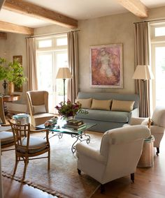 beautiful living room colours - warm, fresh and light