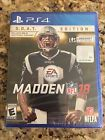 Madden NFL 18: G.O.A.T. Edition GOAT Sony PlayStation 4 PS4 FAST FRE SHIP