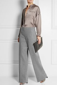 Haider Ackermann | Wool-blend wide-leg pants | NET-A-PORTER.COM