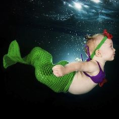 Seth Casteel firma Underwater Babies, ecco il vademecum per baby nuotatori