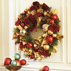 Decorate your indoor and outdoor space in verdant style with Christmas wreaths and garlands from Frontgate. Shop individual pieces and sets for effortless holiday decor. Magnolia Centerpiece, Candlestick Centerpiece, Floral Centerpieces, Christmas Greenery, Christmas Decorations, Holiday Decor, Christmas Ideas, Holiday Ideas, Christmas Time