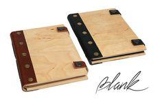 Cuaderno de madera - cubierta de madera - madera diario - madera portátil - personalizado - personalizado diario - libro de madera