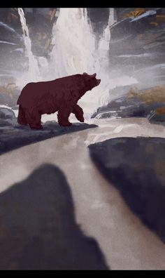 ArtStation - Lonely Bear, Mike Redman